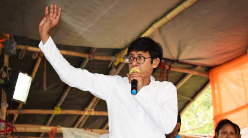 Kanchan Mullick: TMC candidate's campaigning video of WB Assembly Election 2021   Sangbad Pratidin