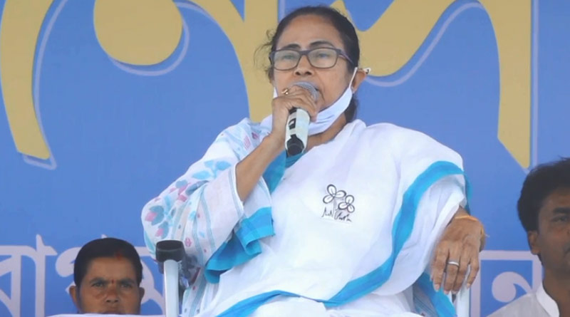 West Bengal Assembly Elections : Mamata Banerjee accuses bjp of spending money for vote | Sangbad Pratidin