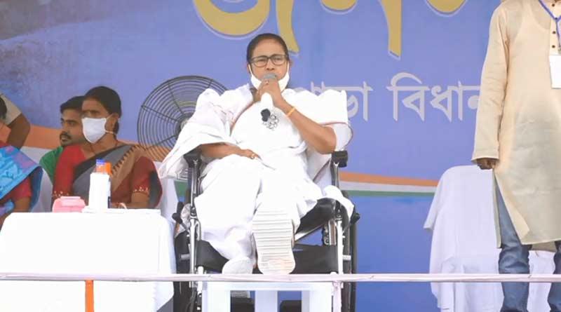 TMC Candidate Mamata Banerjee opens up against corruption, promises relief   Sangbad Pratidin