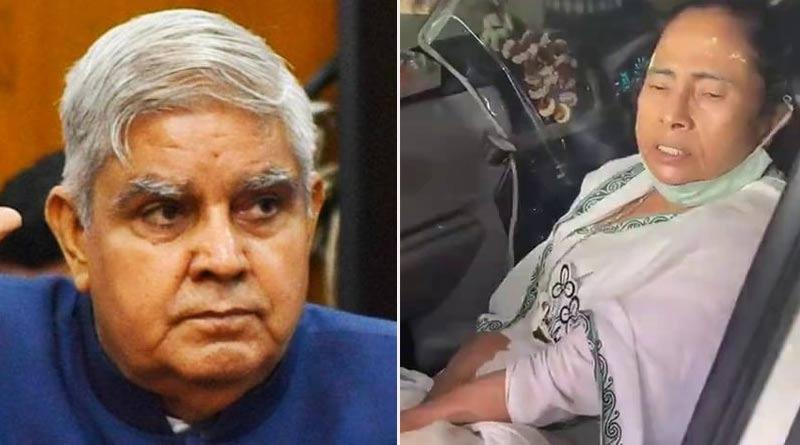 Nandigram Incident: Governor of West Bengal Jagdeep Dhankhar wishes CM Mamata Banerjee speedy recovery | Sangbad Pratidin