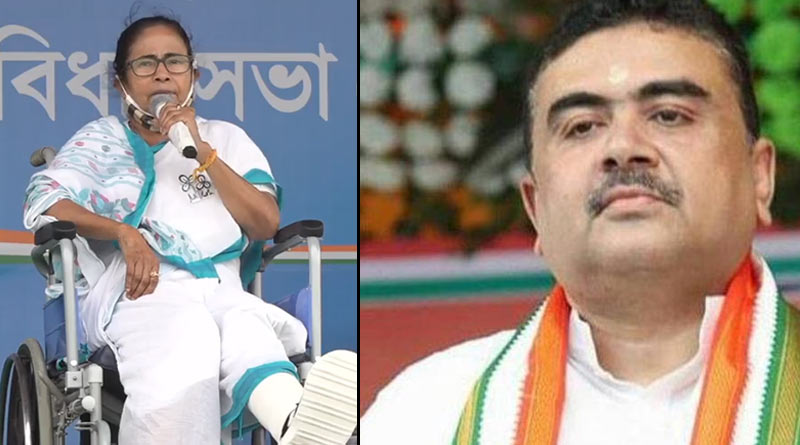Mamata Banerjee attacks Suvendu Adhikary with strong messege for his link with Amit Shah from 2014 |Sangbad Pratidin