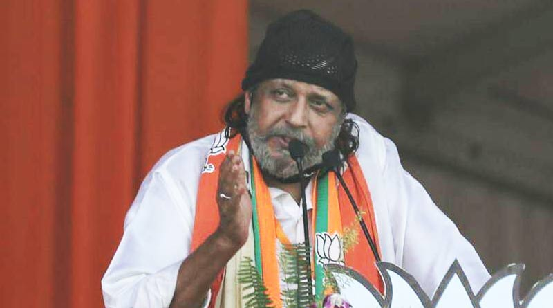 Bengal Polls : Actor Mithun Chakraborty falls ill during road show | Sangbad Pratidin