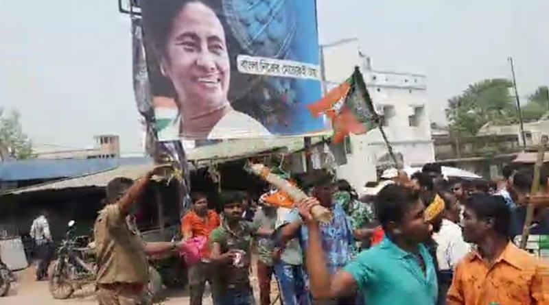 Bombs recovered from Nanur, Birbhum, clashes between TMC-BJP |Sangbad Pratidin