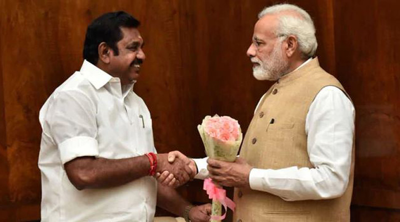 AIADMK-BJP alliance only meant for poll victory, ideologies different, says Tamil Nadu CM Palaniswami | Sangbad Pratidin