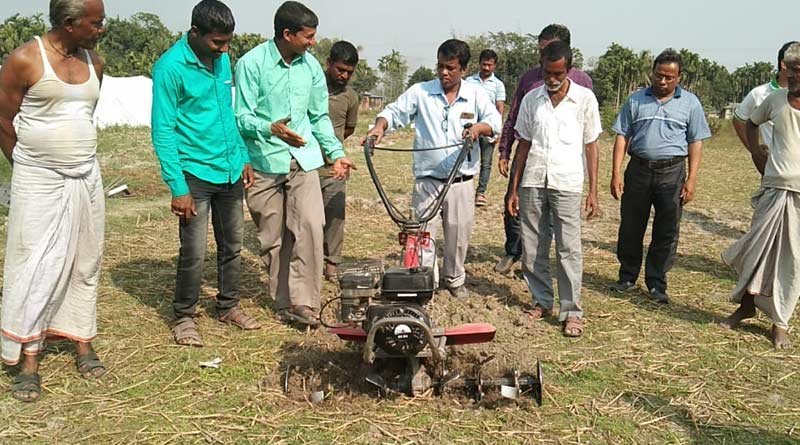 Malbazar Farmers to use this potato Machine for potato Cultivation | Sangbad Pratidin