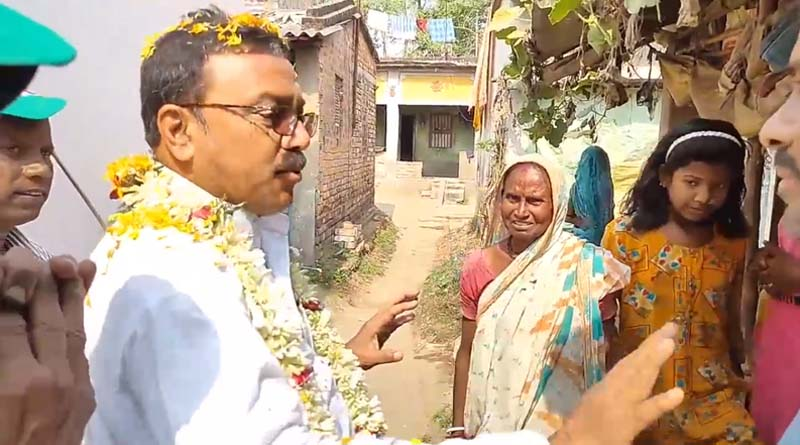 TMC candidate of Purshurah called his own party's MP and MLA corrupted । Sangbad Pratidin