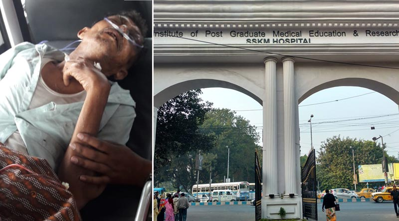 Kolkata: Man allegedly has not got proper treatment at SSKM hospital   Sangbad Pratidin