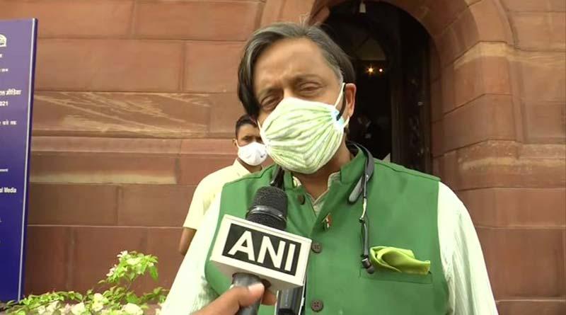 Congress leader Shashi Tharoor defends Britain in farm law discussion row | Sangbad Pratidin