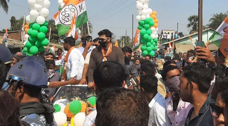 West Bengal Assembly Election 2021: Dev started campaign for Kanthi Uttar's TMC candidate | Sangbad Pratidin