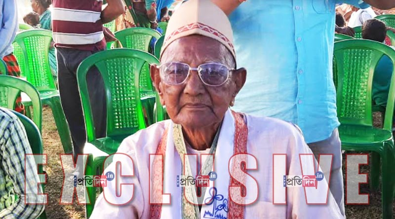 WB Assembly Elections: 111 years old Haradhan Saha will cast his vote this year postal ballot | Sangbad Pratidin