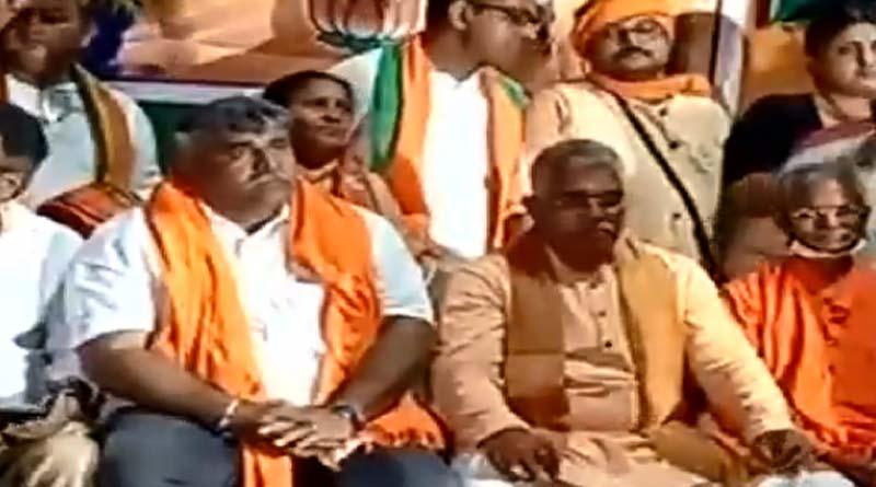 Asansole TMC leader Jitendra Tiwari joins BJP | Sangbad Pratidin