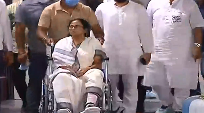 Mamata Banerjee has been released from SSKM hospital   Sangbad Pratidin