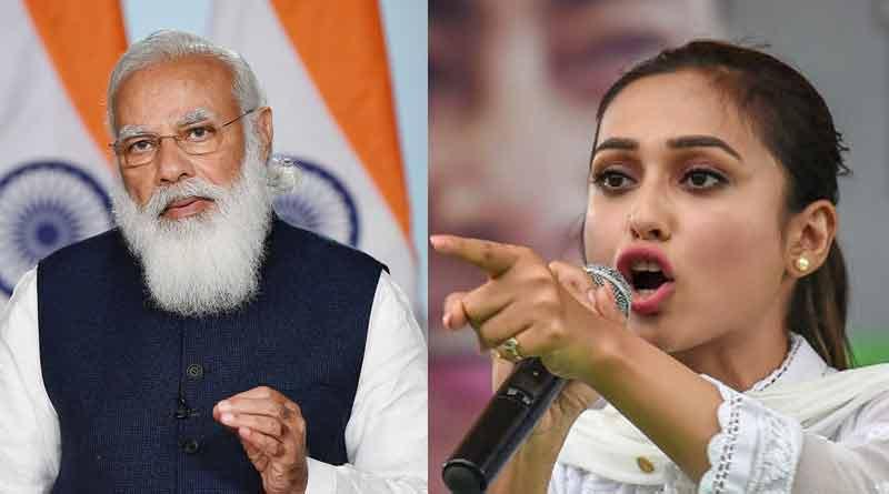 Mimi Chakraborty slams PM Narendra Modi for LPG price hike | Sangbad Pratidin