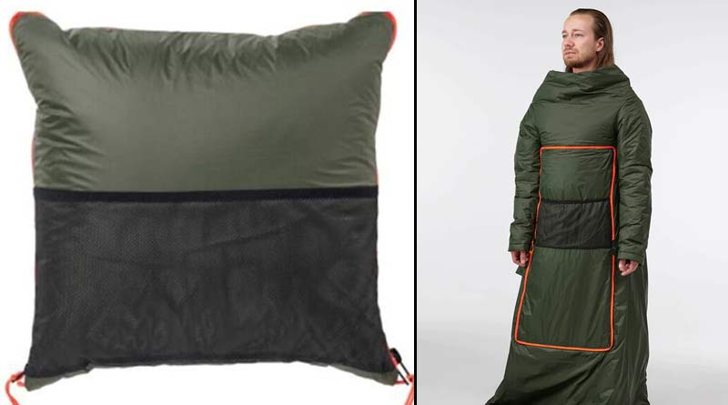 IKEA made novelty garments by pillows to give comfort during coronation
