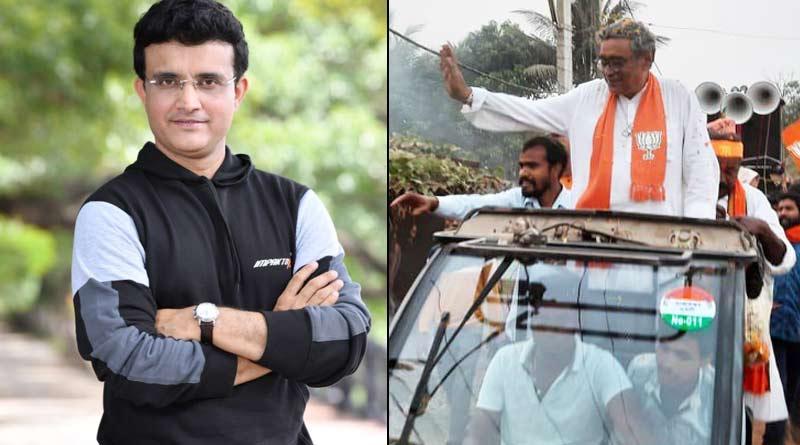 Interview with Swapan Dasgupta: Sourav Ganguly BJP Friendly, says BJP Candidate of Tarakeswar | Sangbad Pratidin