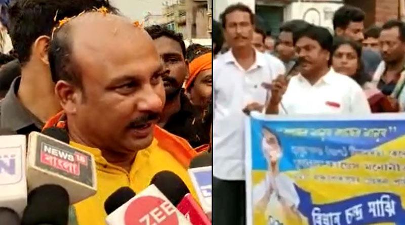BJP district presidentof Birbhum makes controversial comment while threatning on 'Pakistan' issue  Sangbad Pratidin
