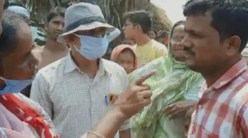 WB polls 2021 : TMC leader allegedly threatened a cpm candidate in birbhum | Sangbad Pratidin