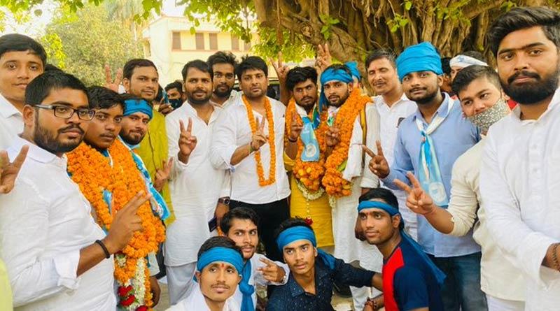 Varanasi: Congress student wing wins all posts in Sampurnanand Sanskrit University election | Sangbad Pratidin