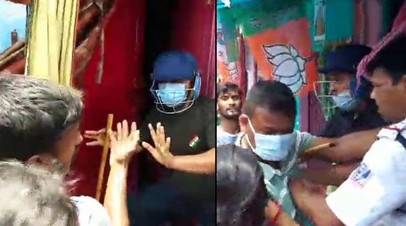WB Assembly Polls: fresh clash between TMC-BJP at Duttabad, Salt Lake, 9 injured   Sangbad Pratidin