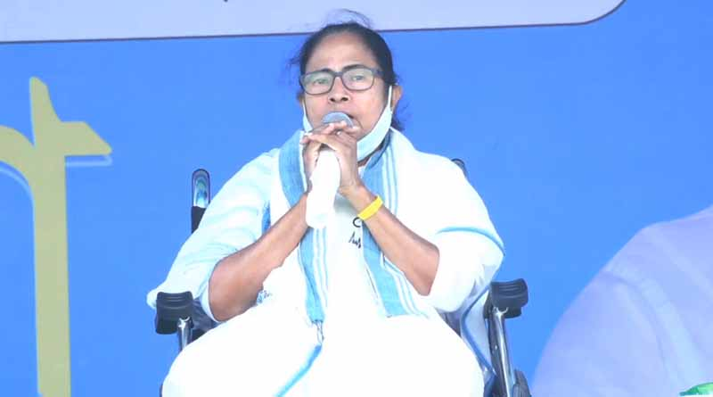 WB Election 2021 : Mamata Banerjee Slams Modi and EC | Sangbad Pratidin