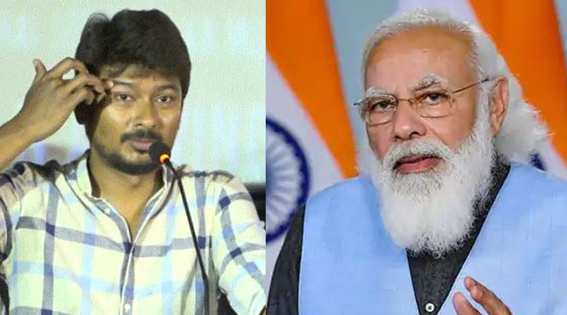 DMK leader Udhayanidhi Stalin has alleged Sushma Swaraj and Arun Jaitley died due to torture exerted by PM Modi | Sangbad Pratidin