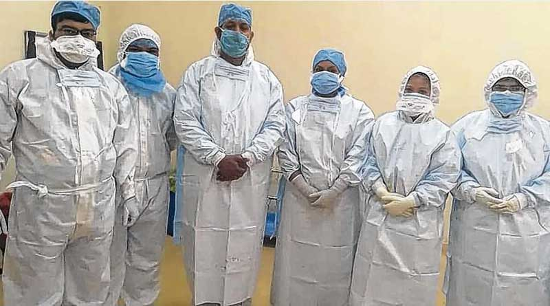 Chinese manja looms large, Doctors performed operation wearing PPE kit | Sangbad Pratidin
