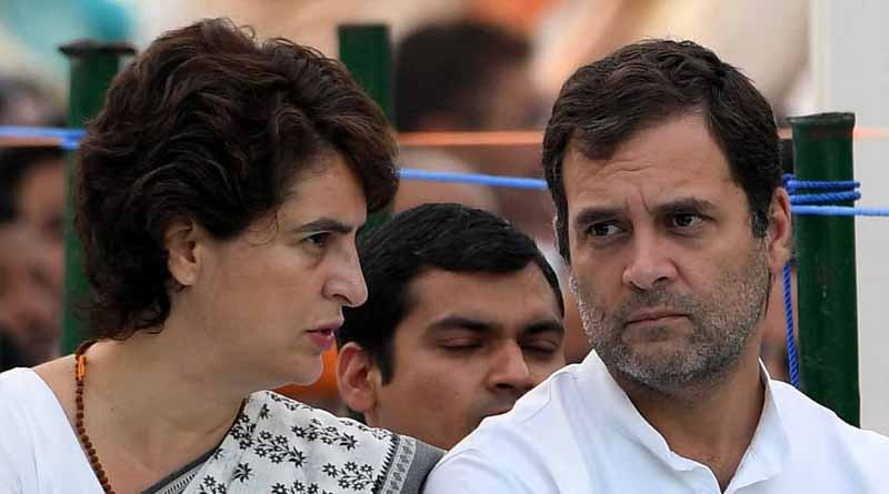 Rahul Priyanka criticize role of Central government in Corona situation