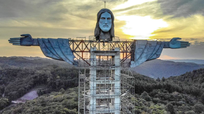 newest jesus statue in southern brazil will be taller than rio de janeiro's iconic 'christ the redeemer' | Sangbad Pratidin