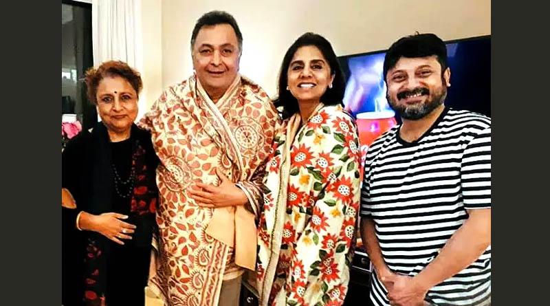 Late actor Rishi Kapoor wanted to shoot in Tagore's in Santiniketan, said Shiboprosad Mukherjee | Sangbad Pratidin