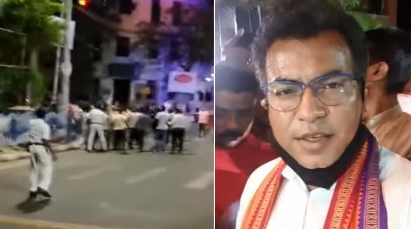 WB Assembly Polls 2021 : Clash between TMC and BJP worker in chetla | Sangbad Pratidin