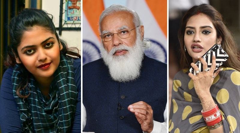 TMC MP Nusrat Jahan blames PM Narendra Modi for oxygen crisis in the country | Sangbad Pratidin
