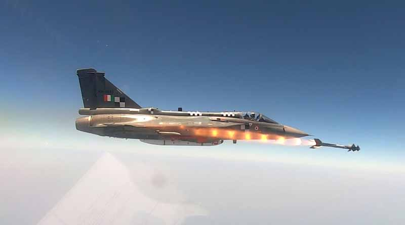 Tejas has added the fifth generation Python-5 in its air-to-air weapons capability । Sangbad Pratidin