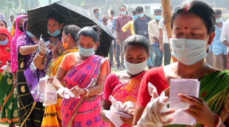 West Bengal assembly polls and corona pandemic | Sangbad Pratidin