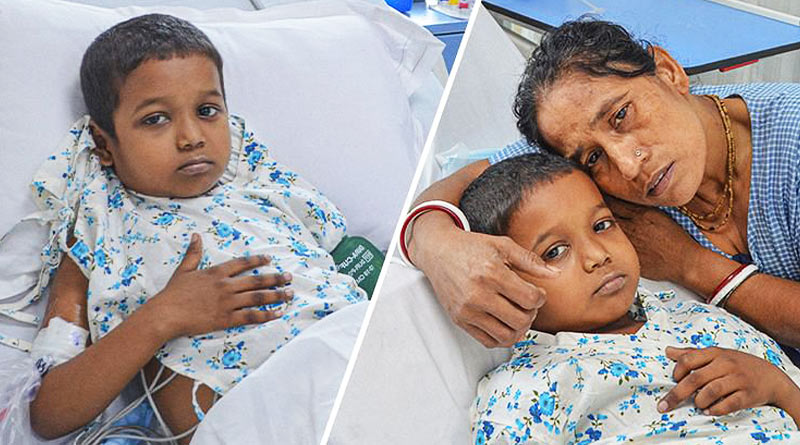 6year old suffering from Cancer, Please Help this mother to save her Son From Cancer | Sangbad Pratidin