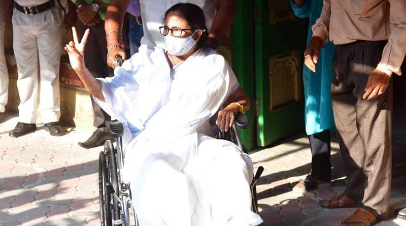 WB Election 2021: CM Mamata Banerjee casts her Vote in Kolkata | Sangbad Pratidin
