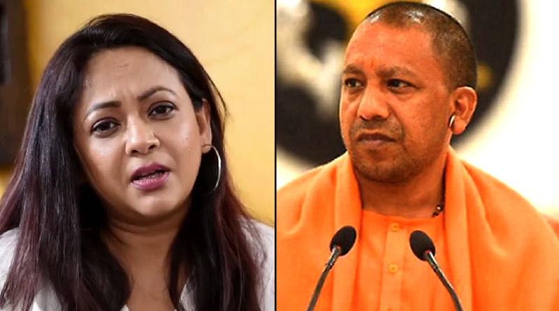 Actress Sreelekha Mitra slams UP CM Yogi Adityanath | Sangbad Pratidin