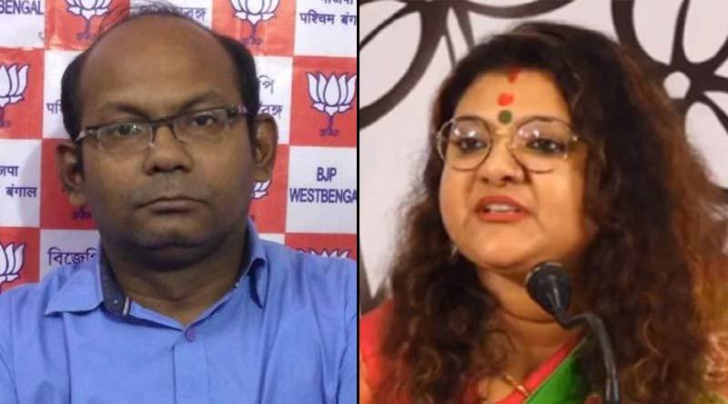 WB Polls 2021 : EC bans Sujata Mandal Khan and Sayantan Basu for 24 hours | Sangbad Pratidin