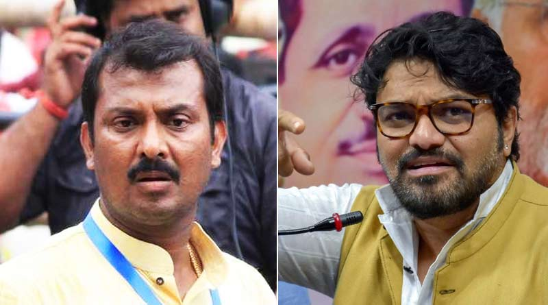 WB Election 2021: FIR against Swarup biswas by BJP Candidate Babul Supriyo | Sangbad Pratidin