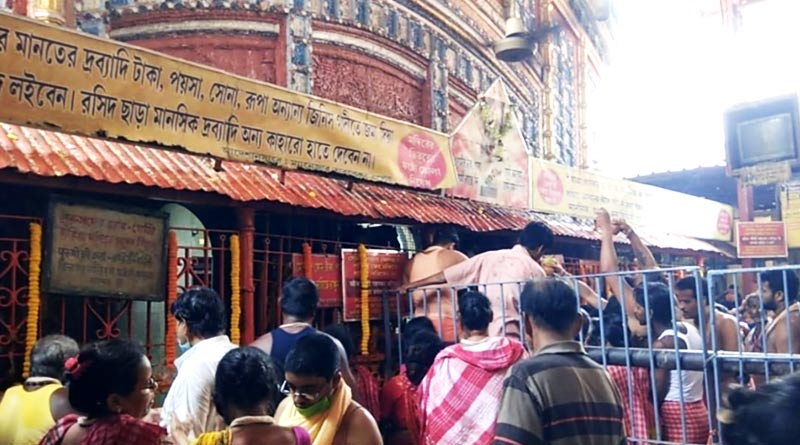 Tarakeshwar temple closed as corona cases surge in Bengal | Sangbad Pratidin