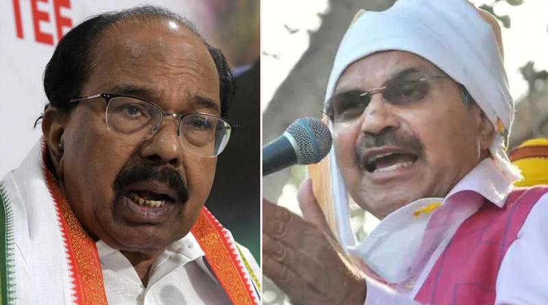 Senior Congress leader M Veerappa Moily sought action against Adhir Ranjan Chowdhury for Bengal poll debacle | Sangbad Pratidin