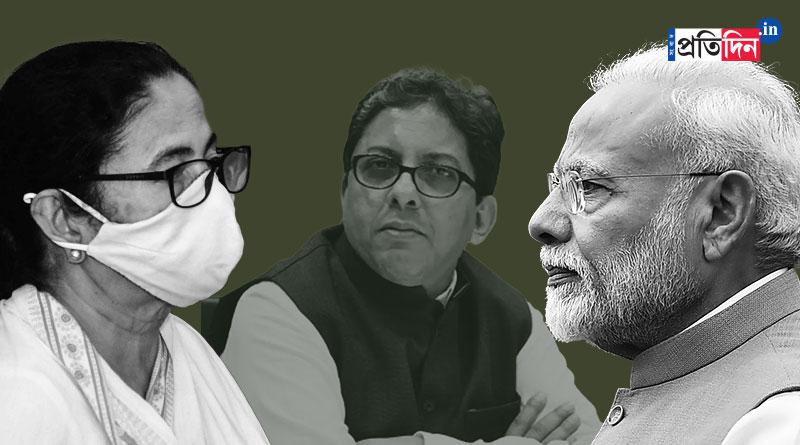 TMC slams Centre's 'vendetta politics' on Alapan Banerjee row । Sangbad Pratidin