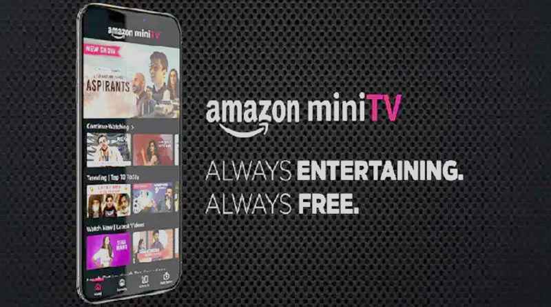 The e-commerce giant Amazon Saturday launched MiniTV, an ad-supported video streaming service | Sangbad Pratidin