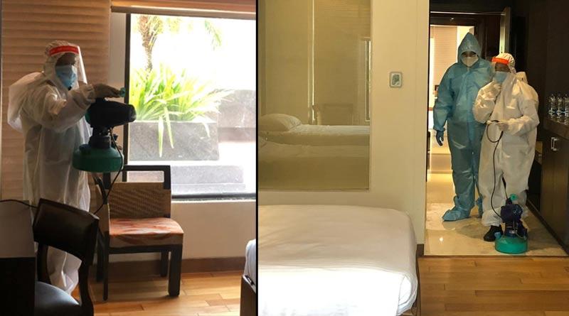 COVID-19 treatment started in The LaLiT Great Eastern Kolkata | Sangbad Pratidin