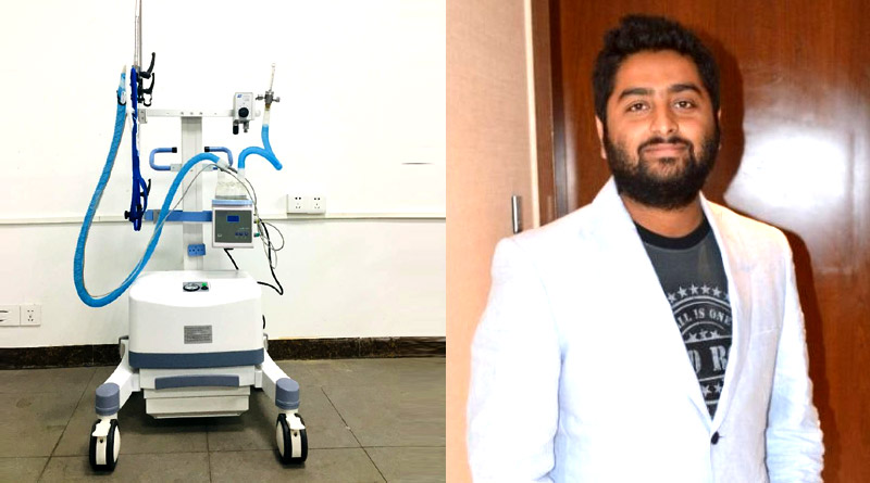 Arijit Singh donated high flow nasal oxygen therapy machines for Covid care | Sangbad Pratidin