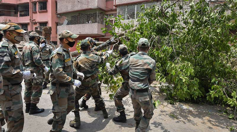 Cyclone Yaas: Indian Army deploys columns and engineer task forces in West Bengal | Sangbad Pratidin