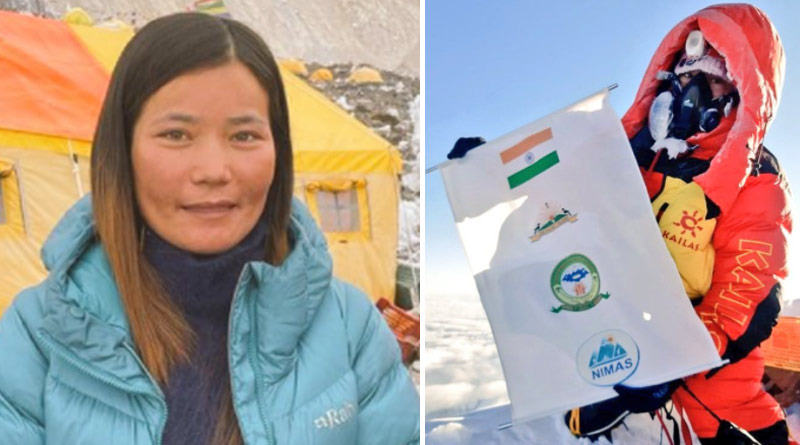 Arunachal Pradesh's Mountaineer Is First Indian Woman To Scale Everest This Year | Sangbad Pratidin