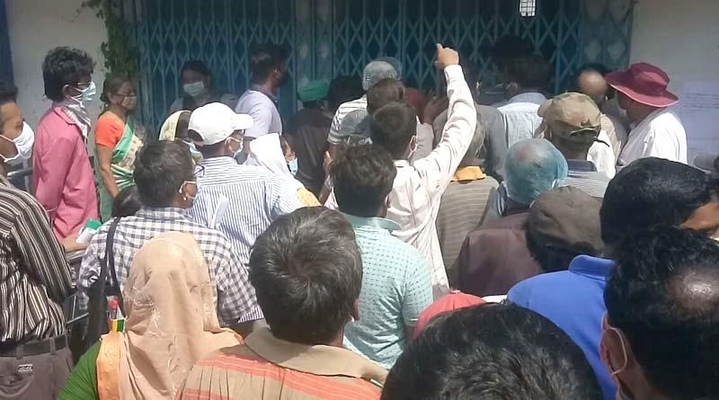 Unrest in Belur Hospital due to shortage of COVID-19 Vaccine| Sangbad Pratidin