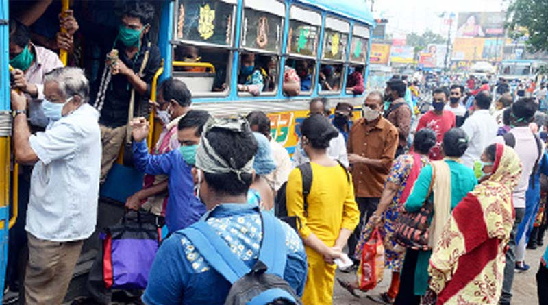 WB Govt. urges ss many as private buses should be on road for Satureday before lockdown| Sangbad Pratidin