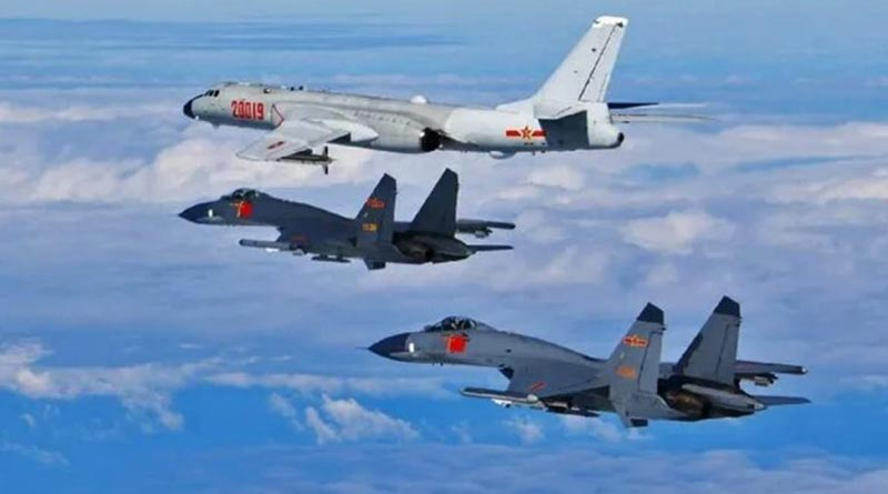 Chinese war plane enters Taiwan air defence zone amid heightened tensions | Sangbad Pratidin