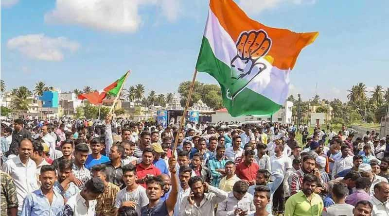 Congress sweeps Karnataka Urban local body polls, BJP 3rd | Sangbad Pratidin